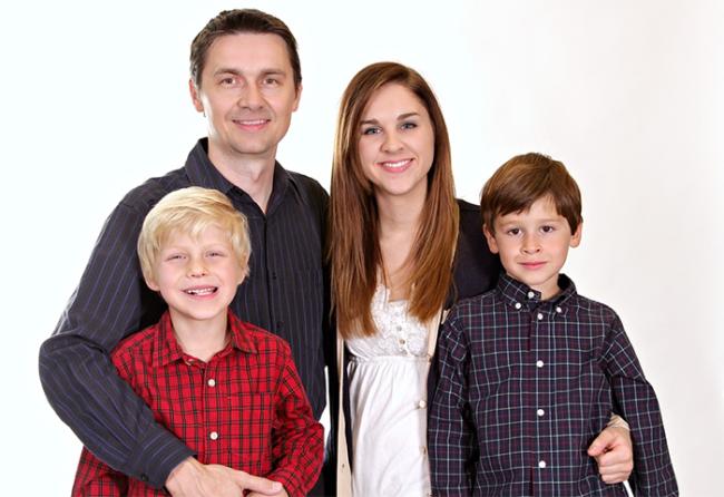 famiglia quattro
